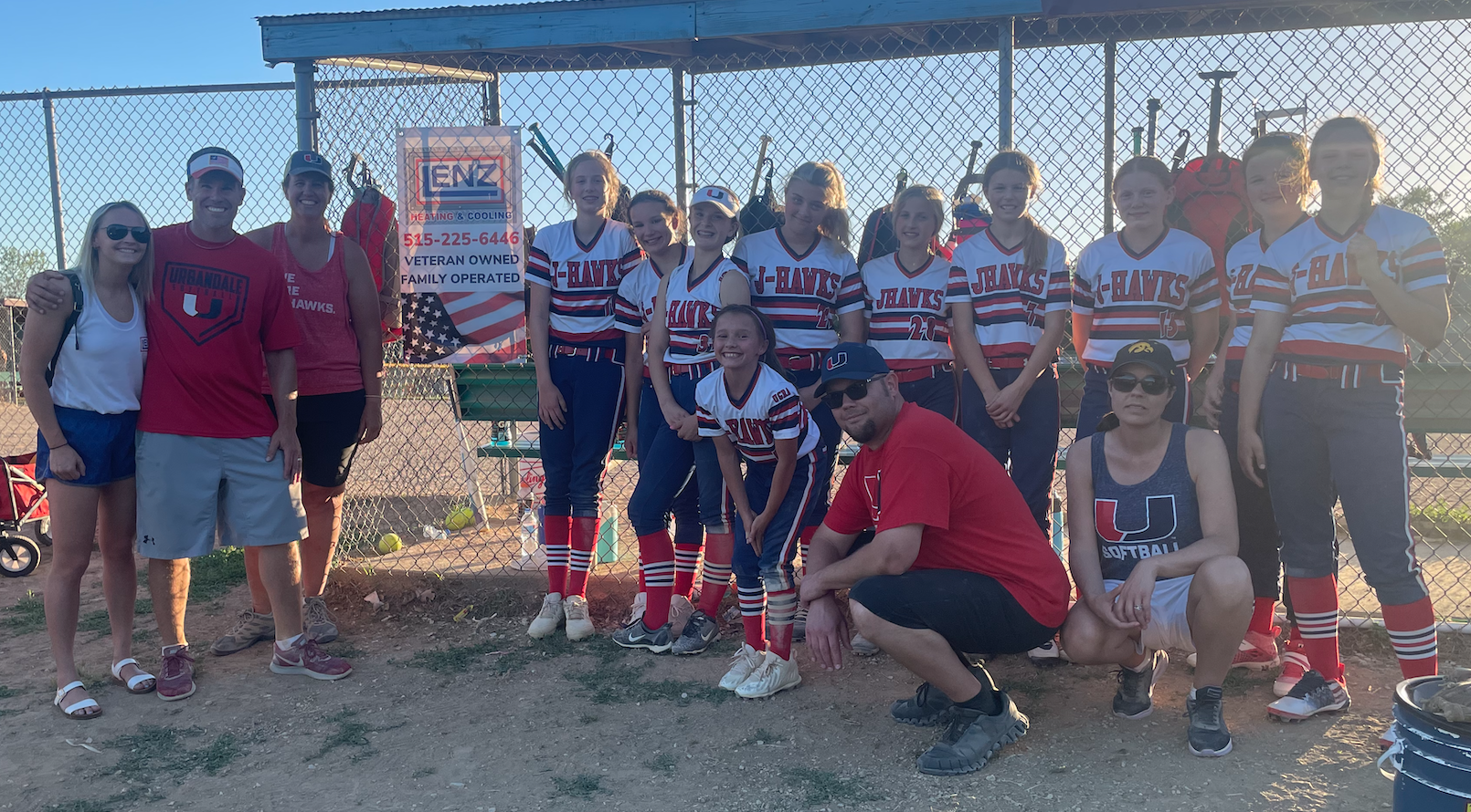 Lenz Heating and Cooling HVAC company Des Moines, Urbandale IA Chamber of Commerce, Creston IA chamber of commerce, Urbandale IA softball